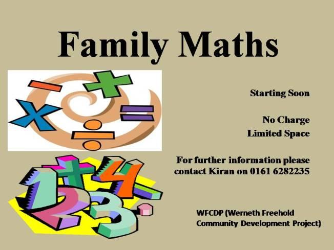 Family Maths