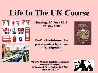 life in the uk course