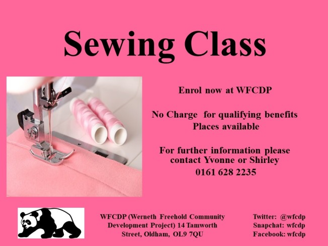 Sewing Class 2019